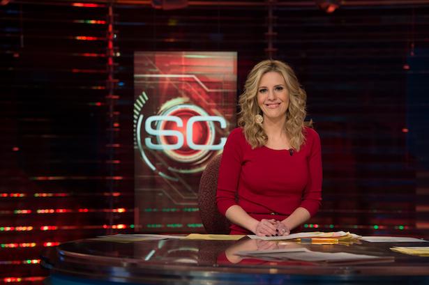ESPN's Jade McCarthy (Joe Faraoni / ESPN Images)