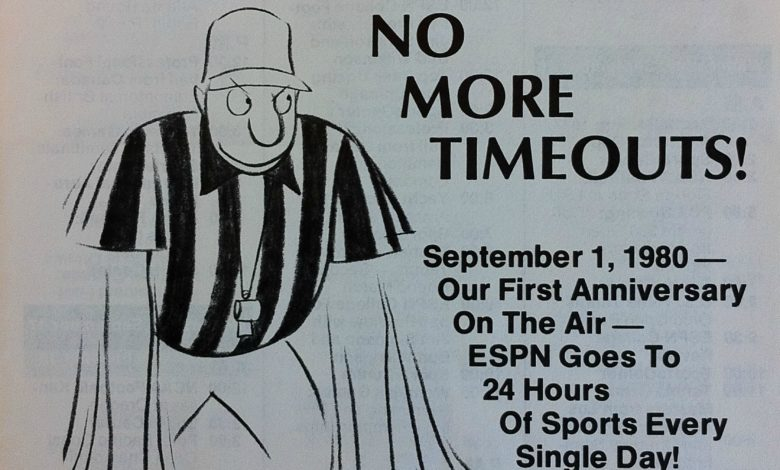 Photo of No More Timeouts! 40 Years Ago Today, ESPN'S Endless Sports Marathon Began
