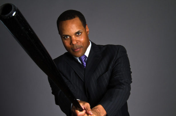 Photo of ESPN analyst Barry Larkin elected to Baseball Hall Of Fame class of 2012