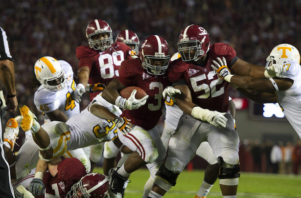 Photo of Why Alabama's Trent Richardson runs tough on and off the field