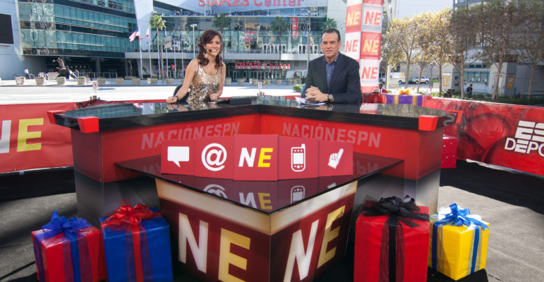 Photo of Nación ESPN celebrates first year with fans, guest stars at L.A. Live party