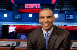 ESPN analyst Herm Edwards. (Mark Gaier/ESPN)