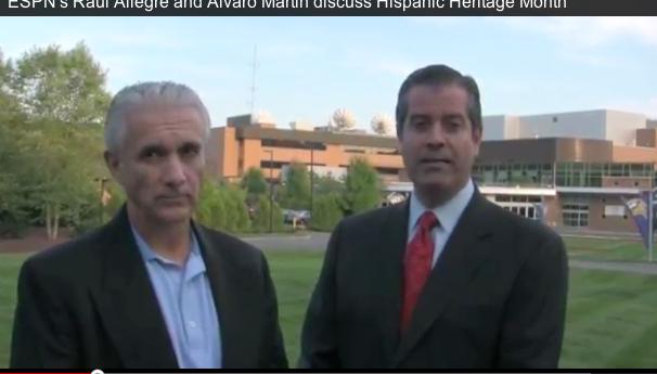 Photo of ESPN Deportes' MNF tandem of Martin, Allegre reflect on HHM