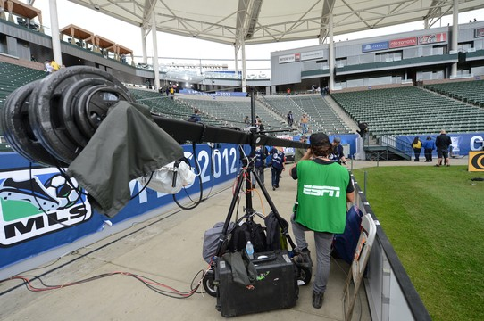 Photo of ESPN has Beckham's MLS Cup farewell match from all angles