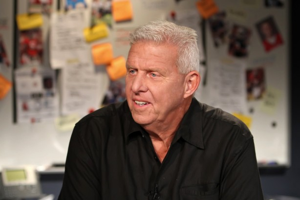 Pro Football Hall of Fame Class of 2013 inductee, ESPN's Bill Parcells