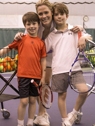 Photo of SportsCenter, tennis majors anchor Chris McKendry makes the most of being a mom, even when she's working worlds away from home
