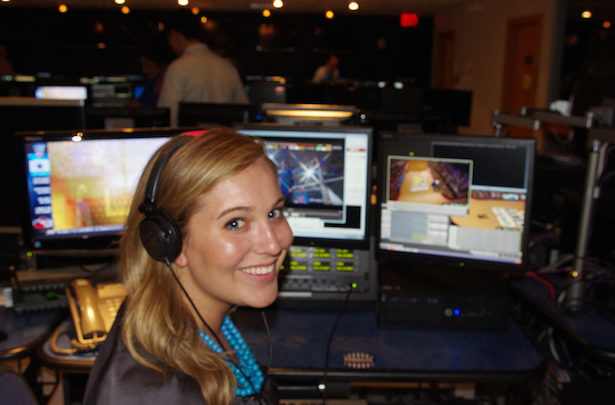 Photo of Intern Chronicles: UNC senior remains on her toes in the world of sports media