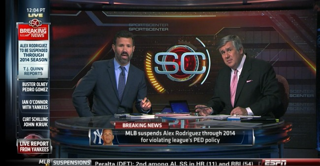 Photo of ESPN's coverage of Monday's big day of breaking news serves viewers with huge team effort