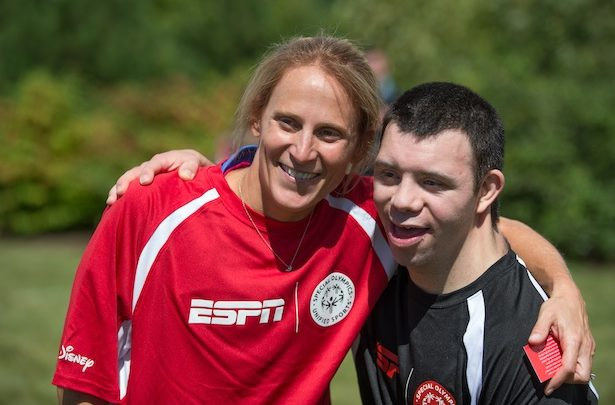 Photo of Disney and ESPN celebrate new Special Olympics Unified Sports initiative with basketball, soccer and flag football games