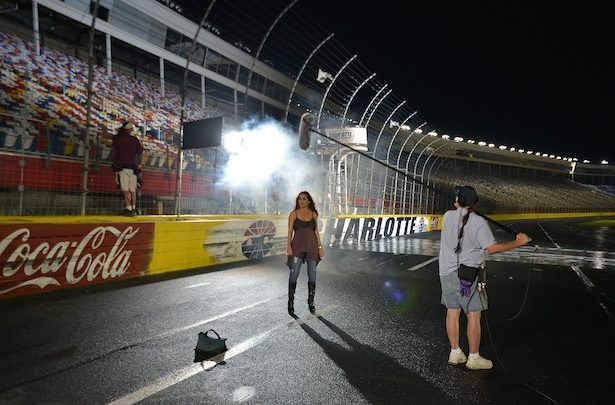 Photo of Country music star Gretchen Wilson lends her voice to ESPN's Chase for the NASCAR Sprint Cup coverage