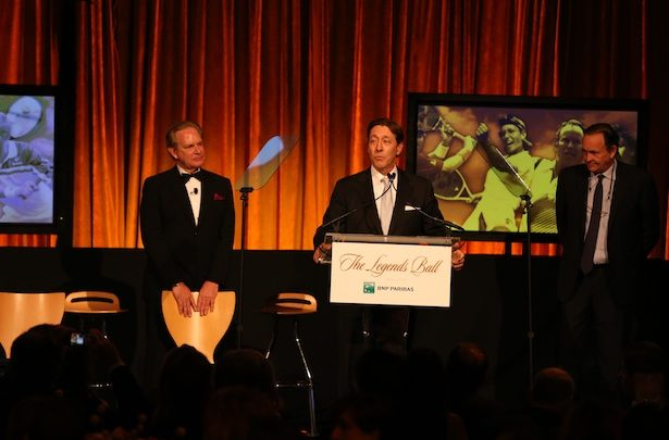 Photo of International Tennis Hall Of Fame honors ESPN with Cullman Award for network's commitment to the sport