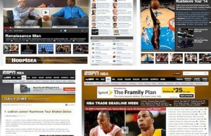 The ESPN.com NBA editorial team's innovation in news reporting, multimedia storytelling and cross-platform integration has raised the bar for online journalism across the industry.