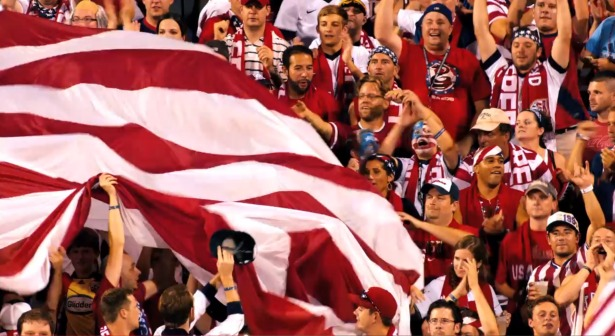 "Photo of Inside ESPN's ""I Believe"" 2014 FIFA World Cup promo featuring the American Outlaws"