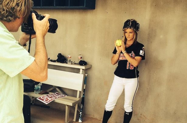 Photo of Go behind the scenes with ESPN's prep for Women's College World Series coverage