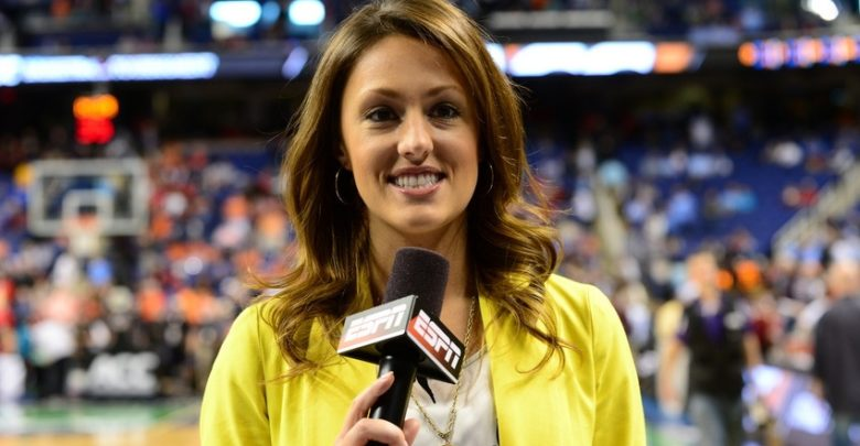Photo of Eventually, all sideline reporters – except ESPN's Allison Williams – grow up