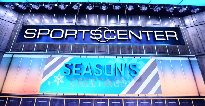 Photo of Whether in studio or at home, ESPN celebrates the holidays