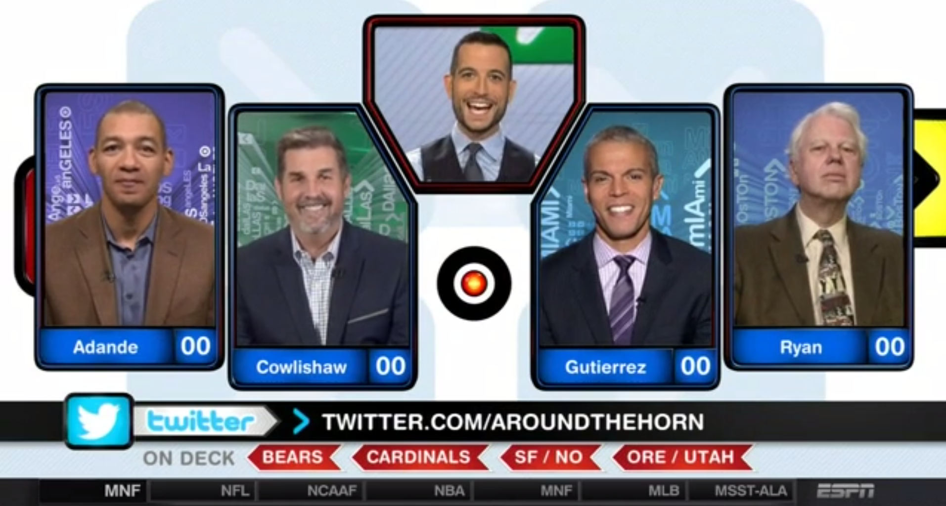 Inside Around the Horn's updated theme; TOC begins - ESPN ...