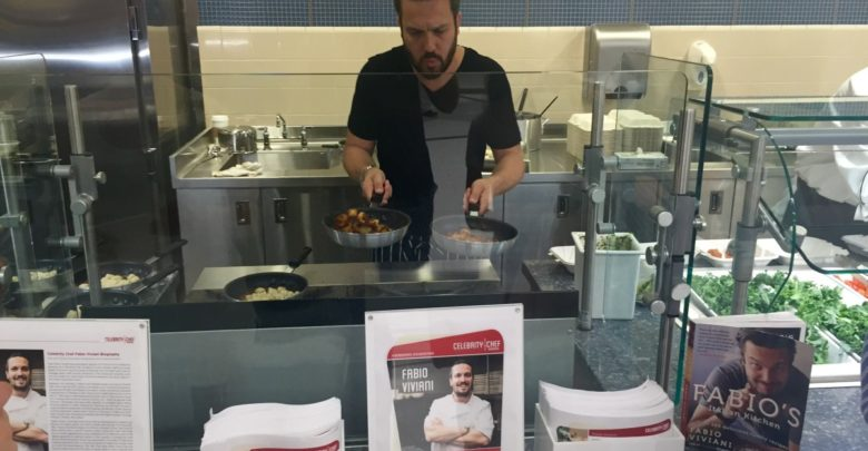 Photo of Chef Fabio Viviani adds dash of zest to new ESPN cafeteria's housewarming