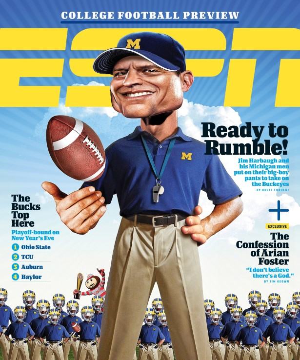 ESPN The Magazine's College Football Preview Issue.