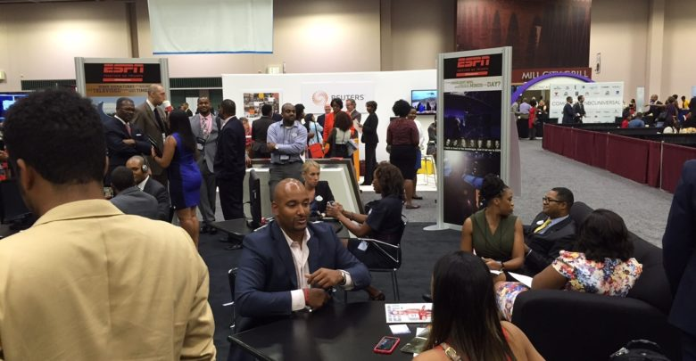 Photo of ESPN at the NABJ Convention and Career Fair Minneapolis