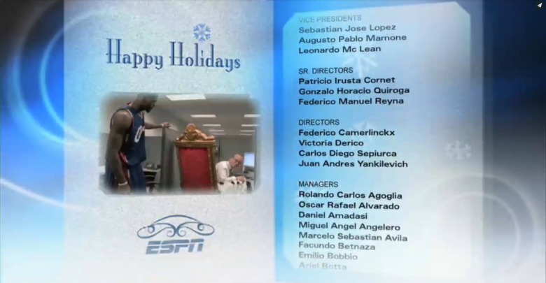 Photo of Giving credit where it's due on SportsCenter employee credit roll