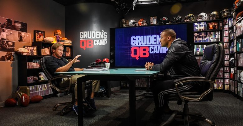 Photo of Inside 2016 Gruden's QB Camp, premiering Saturday on ABC
