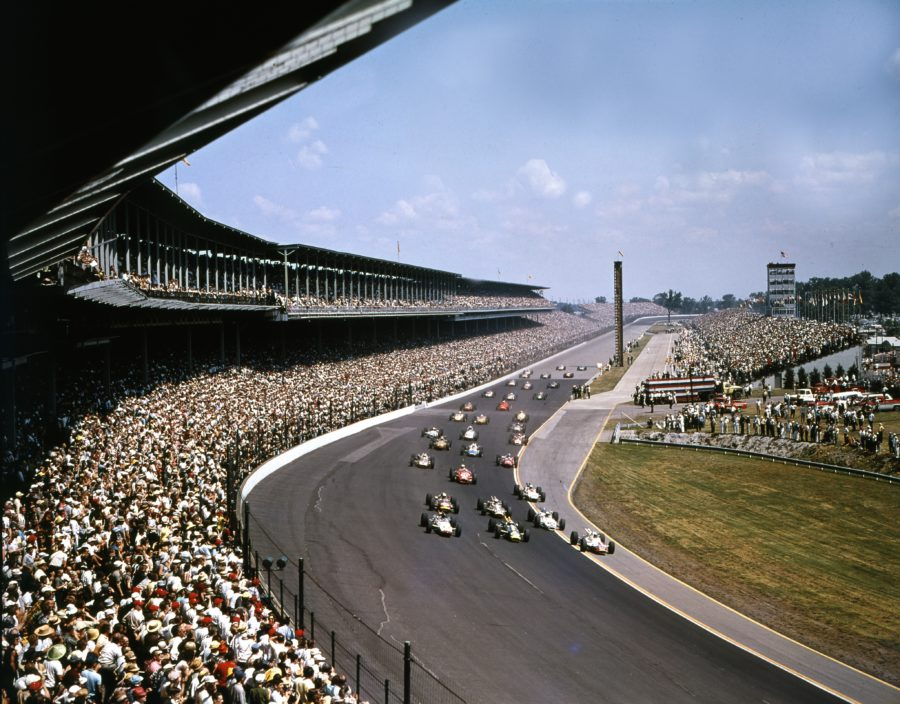 ABC broadcast its first Indy 500 in 1965. (Indianapolis Motor Speedway)