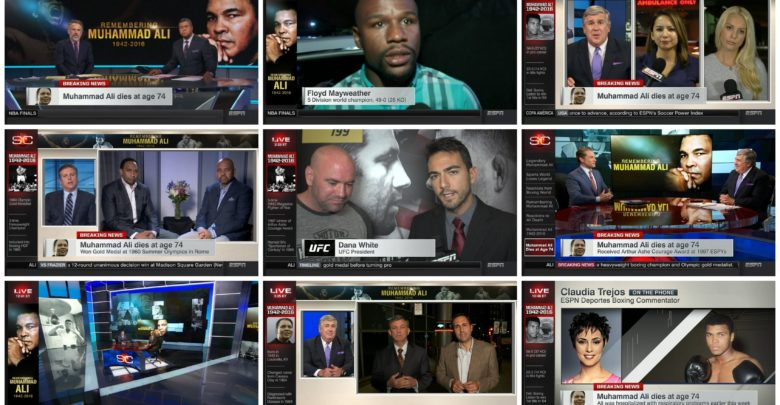 Photo of 12 hours of The Greatest: SportsCenter's initial Ali coverage