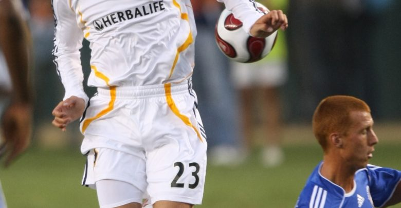 Photo of #TBT: Beckham's 2007 debut with MLS' LA Galaxy on ESPN2