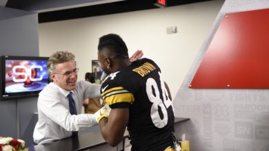 Photo of Steelers' Brown says TISC experience similar to DWTS