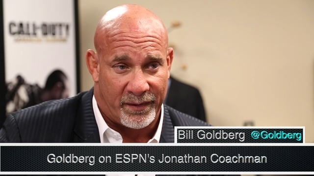 Photo of Who's next? Goldberg tackles MNF, Coachman before Lesnar