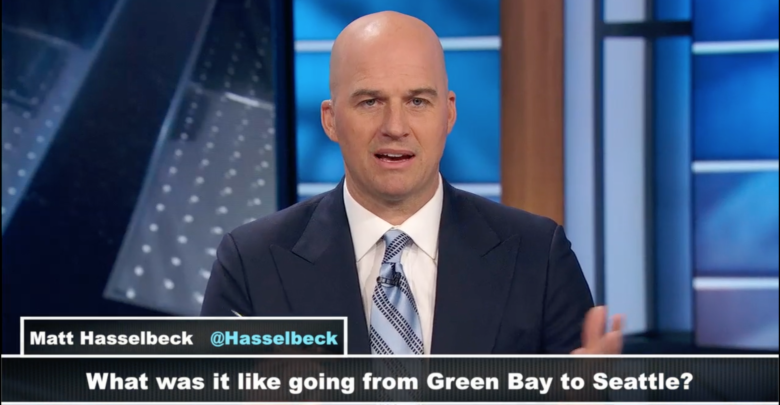 Photo of 'Hawk returns to nest: Matt Hasselbeck visits Seattle with Countdown