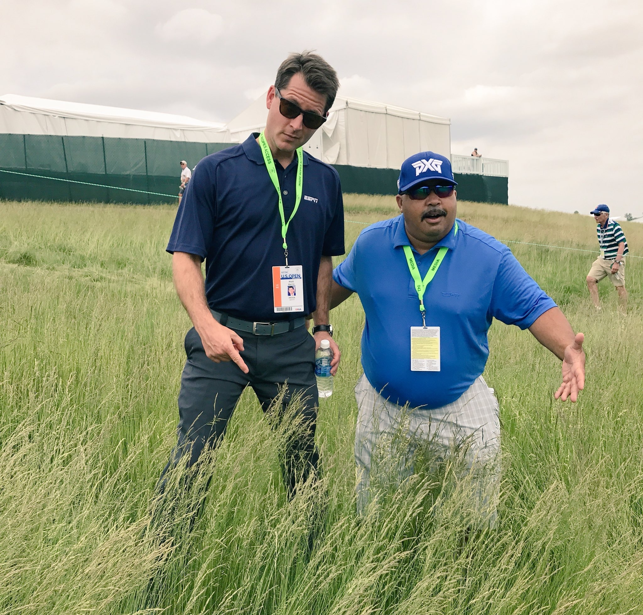 Photo of SportsCenter's Barrie relishes opportunity to cover his first U.S. Open