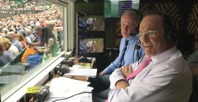 "Photo of Behind the scenes of ESPN's ""first-to-last-ball"" coverage of Wimbledon"