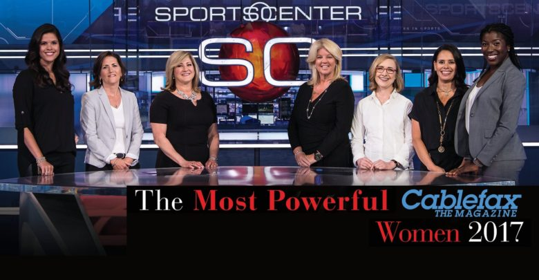 "Photo of ESPN execs grace cover of CableFax Magazine's ""Most Powerful Women"" Issue"