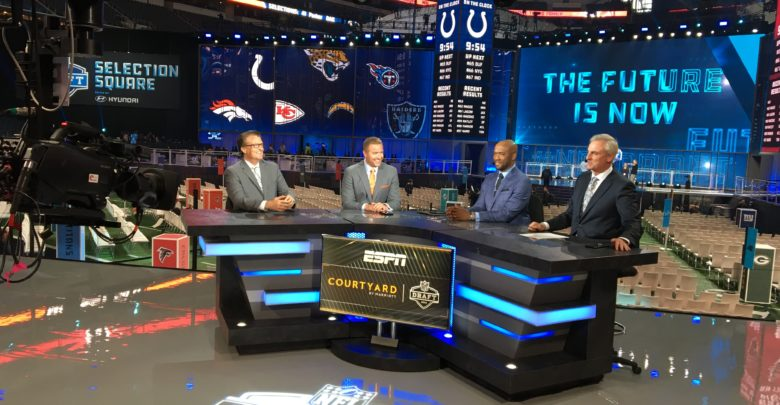 Photo of ESPN blankets the NFL Draft again