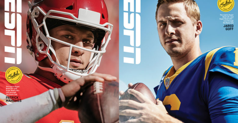 Photo of Text Football: Reporters Exchange Messages On ESPN The Mag Goff-Mahomes Cover Stories