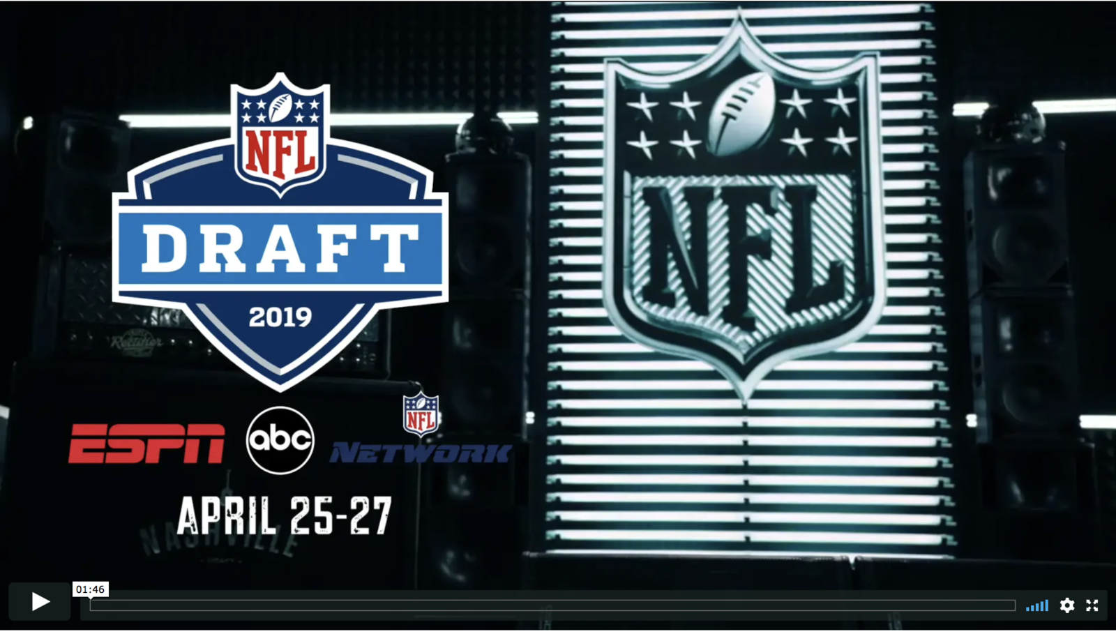 Preview How Espn And Abc S 2019 Nfl Draft Presentations