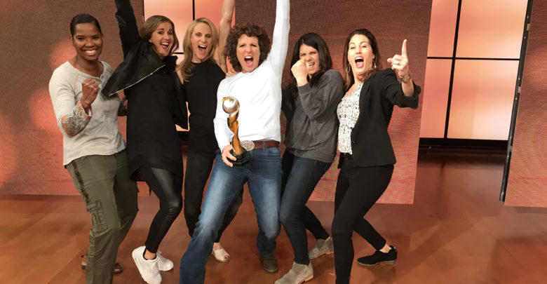 "Photo of ""They Changed the Face of Women's Sports Forever"" – '99ers Legacy Lives On Through espnW Reunion Special"