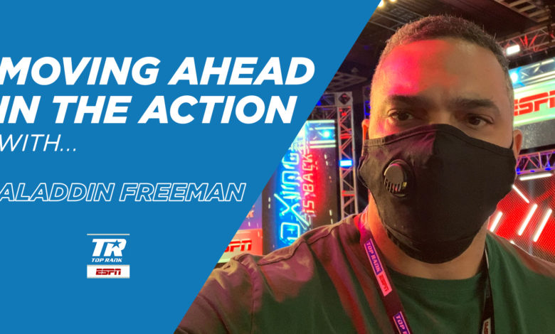 Photo of Moving Ahead In The Action With…Aladdin Freeman