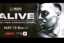 Photo of UPDATED: Journalism Showcase: E60 Revisits 'Alive: The Drew Robinson Story' Thursday Night On ESPN