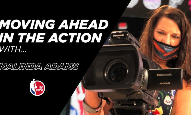 Photo of Moving Ahead In The Action With . . . Malinda Adams