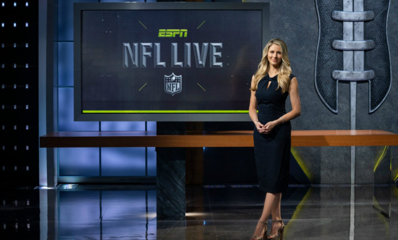 "Photo of Rutledge promises "". . . highlights, breakdowns, predictions, and good ole football talk. . ."" with new NFL Live cast"