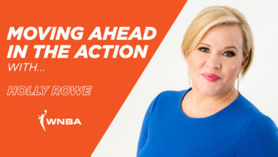 Photo of Moving Ahead In The Action With . . . Holly Rowe