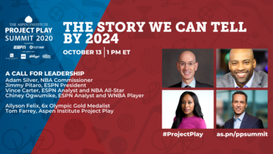 "Photo of Executive Voice: ""ESPN is committed to doing our part to ensuring all kids have the ability to play."""