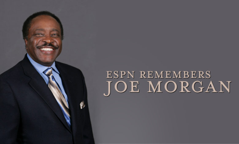 Photo of ESPN Remembers Joe Morgan