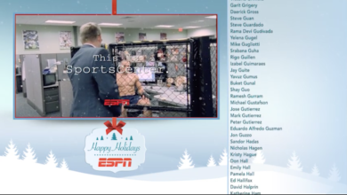 Photo of ESPN's 2020 Holiday Credits Roll
