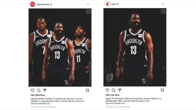 Photo of New Jersey? Sure!  ESPN Social Media Specialist Excels In NBA Quick-Change Artistry