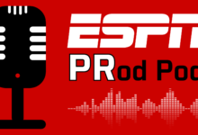 "Photo of The ESPN ""PRod Pod"": Episode 3, SportsCenter Anchor Elle Duncan discusses motherhood, maintaining positive social justice momentum, and of course, music"