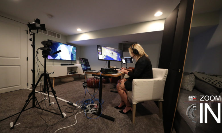 Photo of Zoom In: NBA Analyst Doris Burke Makes Her Points From Her Philly Home Studio